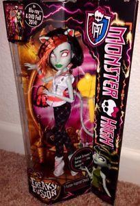 Monster High Freakie Fusion Scarah Screams New as Toralei Doll | eBay