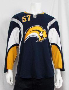 09 10 NHL Buffalo Sabres   57 Tyler Myers CCM Reebok Jersey W Fight Straps  sz 50  CCMReebok  BuffaloSabres eadab6900