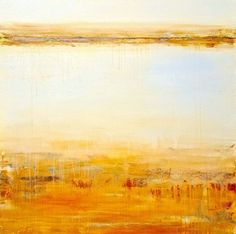 """Buy """"Amber Dunes"""" large 36""""x36"""", Acrylic painting by Laura Spring on Artfinder. Discover thousands of other original paintings, prints, sculptures and photography from independent artists."""