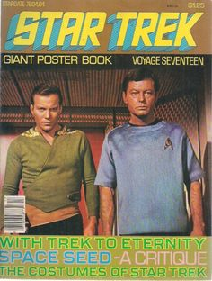 classictrek:grayflannelsuit:  Star Trek Giant Poster Book (1978). cc: classictrek  I've got my eye on a lot of these on eBay and nnnnf.