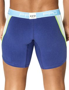 www.machoscloset.com - PPU Racing Stripe Long Boxer, $24.99 (http://www.machoscloset.com/ppu-racing-stripe-long-boxer/)