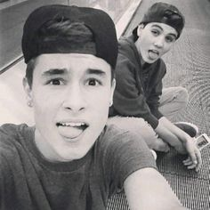 Kian Lawley and Sam Pottorff