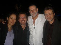 Marina Stavenhagen, Gerardo Tort y Walter Navas