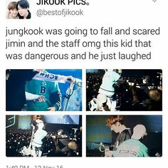 Jungkook the evil maknae. BTS