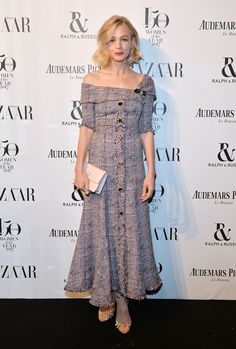 Carey Mulligan - Harper's Bazaar Women of the Year Awards - Erdem