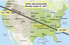"Neil deGrasse Tyson on Twitter: ""Moon's shadow landfalls Oregon, crosses USA at…"