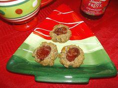 24/7 Low Carb Diner: Walnut Thumbprints