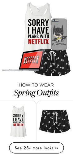 """Netflix Plans"" by soccerlover14 on Polyvore featuring mode en MINKPINK"
