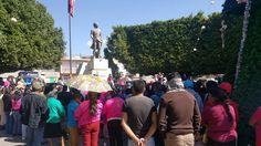 México requiere de la unidad de los mexicanos, para defender nuestros recursos naturales y nuestra soberanía, afirmó la diputada del PRD al participar en la manifestación pacífica para exigir al ...