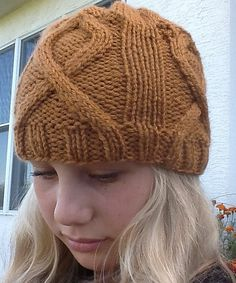 The September is Childhood Cancer Awareness Month Hat pattern by Kellie Huffman #free_pattern