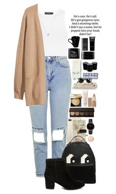 """""""Untitled #27"""" by xpenguinmeldoiesx ❤ liked on Polyvore featuring Topshop, Calvin Klein Collection, H&M, Links of London, Disaster Designs, Les Petits Joueurs, philosophy, Steve Madden, Bobbi Brown Cosmetics and Aveda"""