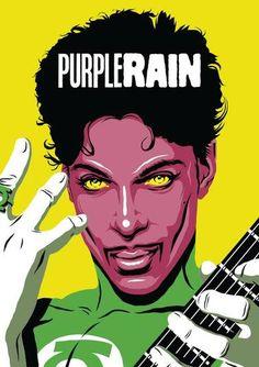 Prince virou o Lanterna Verde — reparou o símbolo no anel dele?Conheça Butcher Billy: o açougueiro que arregaçou com a pop art!