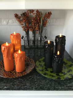 Quick Halloween Crafts, Dollar Tree Halloween, Halloween Coffin, Halloween Candles, Halloween Home Decor, Diy Halloween Decorations, Halloween Kids, Halloween Crochet, Pool Noodle Halloween