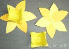 narcis voorjaars knutsel