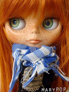 by maryPOP(!), via Flickr Reminded me of a lil cutie named Scarlet
