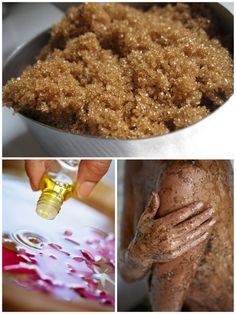 Brown Sugar Scrubs - I made the lavendar lemongrass scrub. I just used ordinary brown sugar but added about a 1/4 cup of sea salt since that has produced lovely results in the past.    This smells like heaven (and has received a couple complements!) and makes my skin super smooth and silky. I want to use it every day! Win!