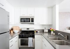 Cool Kitchen - These Roommates Give Us Major Decor Envy - Photos