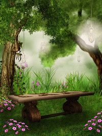 I'd love to sit here & wait for fairy folk to come
