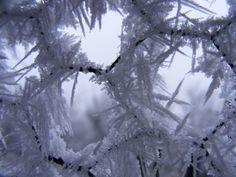 Ice Crystals Hexagon