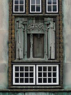 Palais Stoclet, Brussels, Belgium (1911) designed by Josef Hoffmann