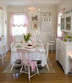 Shabby Chic ♥ dining room
