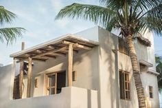 Holbox island Casa Impala - Lofts for Rent in Holbox , Quintana Roo, Mexico Adobe Haus, Lofts For Rent, Desert Homes, Mediterranean Homes, Spanish Style, My Dream Home, Home Deco, My House, Beach House