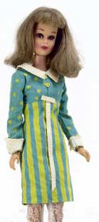 I had this outfit for my Francie doll - It's a Date (1966), my favorite.