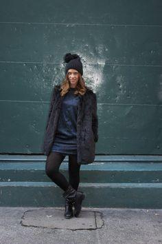 Miss trendy Barcelona: NY Day 2: Charlotte Ronson's Show & look