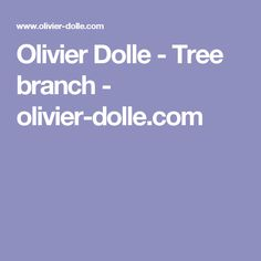 Olivier Dolle - Tree branch - olivier-dolle.com