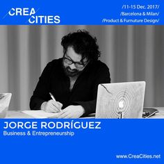 """20 Likes, 1 Comments - CreaCities (@creacities) on Instagram: """"How to manage your creative business? Meet our expert Jorge Rodríguez from @innovationkitchenbcn,…"""""""