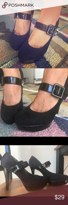Nine West Mary Janes Nine West platform Mary Janes. Never worn! Size 8 Nine West Shoes Platforms