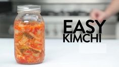 Easy Kimchi -Tasty - Food Videos And Recipes Asian Recipes, Healthy Recipes, Korean Dishes, Fast Food, Tasty, Yummy Food, Fermented Foods, Fermented Cabbage, Food Videos