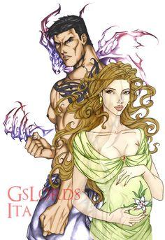 Maddox and Violence, Ashlyn and... twins! by GsLordsIta