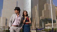 Neal Caffrey and Sara Ellis
