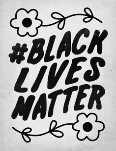 Black Lives Matter Art Print by Roland Lefox - X-Small