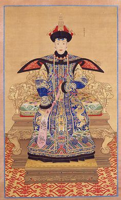 Portrait of a Qianlong Empress Unidentified Artist  Period: Qing dynasty (1644–1911) Date: 19th century Culture: China