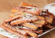 These Garlic Parmesan Carrot Fries Are Almost Too Good To Be Healthy [Video]