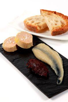 Foie gras et purée de pommes