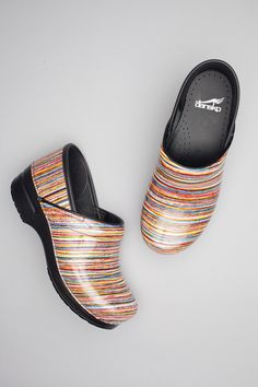 0c8aedea3e70 Professional Black Box Leather. Nursing Shoes ComfortableSanita ClogsNursing  ...