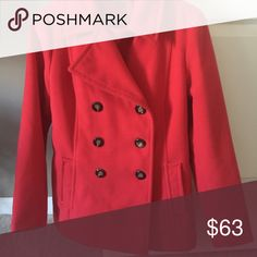 Red winter coat Beautiful red winter coat, size 8-10. Really comfortable and warm, lovely worn with almost anything. Good quality Jackets & Coats