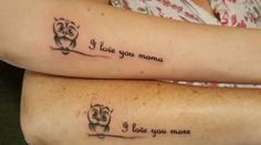 Big on Style: 51 Extremely Adorable Mother-Daughter Tattoos to L...