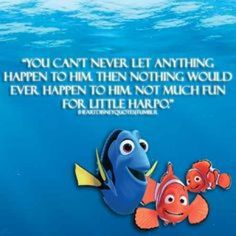 Fallon is about to go away to sea camp for 3 days without me.  I'm trying to be more like Dory, but instead,  I'm totally Marlin right now.  #justkeepswimming #seacamp #freakingout