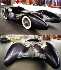 Luigi Colani - A good template for a Batmobile.