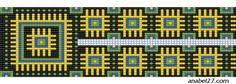 Схема позитивного гердана | - Схемы для бисероплетения / Free bead patterns -