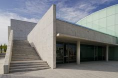 Image 3 of 26 from gallery of Cultural and Social Center in Carrús / Julio Sagasta + Fuster Arquitectos. Photograph by Bruno Almela Alicante, Garage Doors, Spain, Culture, Gallery, Building, Outdoor Decor, Home Decor, Architecture