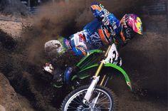 Mike Kiedrowski berm-blasting his way to the the 250 National Motocross title in 1993. @shibaphoto 📷 #EpicAnswerGear #MXKied #90sMotoRuled Dirt Bike Racing, Motocross, History, Instagram, Historia, Dirt Biking, Dirt Bikes