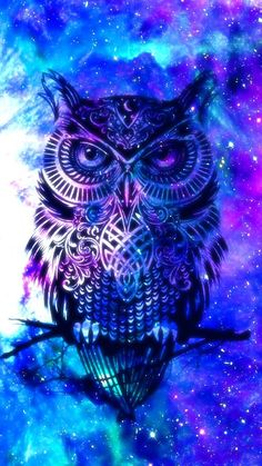 Pin de sandy en ♤:v ♡ owl wallpaper, galaxy wallpaper y cool Cute Galaxy Wallpaper, Tier Wallpaper, Owl Wallpaper, Animal Wallpaper, Screen Wallpaper, Anime Galaxy, Galaxy Art, Cool Backgrounds, Wallpaper Backgrounds