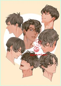 Drawing Tips Couple Hair Reference, Drawing Reference Poses, Drawing Poses, Digital Painting Tutorials, Digital Art Tutorial, Art Tutorials, Pretty Art, Cute Art, Anime Drawings Sketches