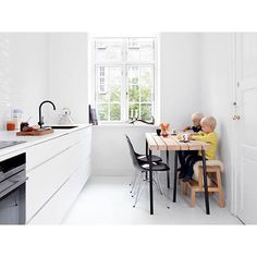 We make big dreams come true in small spaces have developed unique cabinets that give you up to more storage and more cupboard space Give You Up, Nordic Style, Beautiful Kitchens, Kitchen Styling, Dream Big, Cupboard, Office Desk, Kitchen Dining, Corner Desk