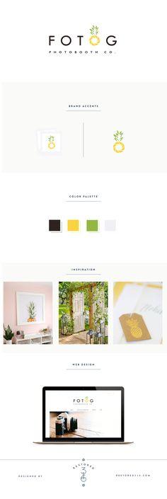 Fotog Photobooth Co. Branding by Lauren Gaige of Restored 316